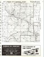 Linden, Mineral Point T5N-R2E, Iowa County 1971